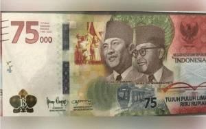 5 Fakta Mengenai Uang Baru Pecahan Rp 75.000, Apa Saja