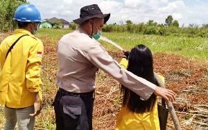 Mahasiswa UPR Diajari Cara Tanggulangi Karhutla