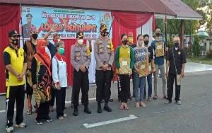 Pemenang Lomba Menyumpit Polres Barito Selatan Dikirim ke Polda Kalteng