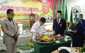 Pengadilan Negeri Tamiang Layang Syukuran HUT ke 75 Mahkamah Agung