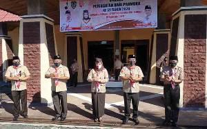 Wakil Bupati Seruyan Pimpin Peringatan Hari Pramuka