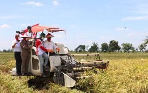 Bupati Pulang Pisau Apresiasi Dukungan TNI Polri Terhadap Pengembangan Food Estate