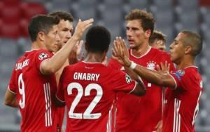 Hasil Liga Champions: Kalahkan Lyon 3-0, Bayern Munchen Melaju ke Final