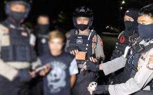 Polisi Amankan Warga Sabangau Karena Bawa Sajam