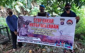 Polsek Hanau Gencar Sosialisasikan Pencegahan Karhutla