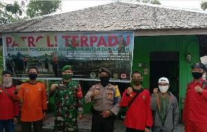 Tim Patroli Terpadu Ajak Warga Berperan Aktif Cegah Karhutla
