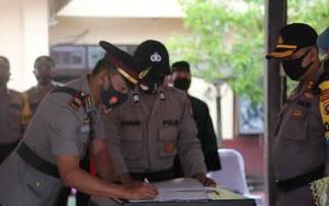 Empat Jabatan Perwira Polres Lamandau Berganti