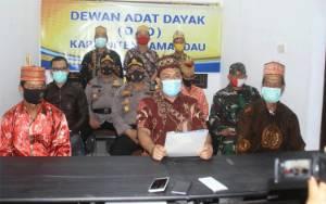 Soal Effendi Buhing, DAD Lamandau Imbau Masyarakat Tidak Terprovokasi