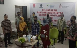 BPJS Ketenagakerjaan Pangkalan Bun Ikuti Penyerahan Subsidi Gaji Pekerja Oleh Presiden RI Secara Online