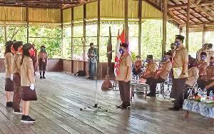 Wakil Bupati Barito Timur jadi Pembina Upacara Peringatan Hari Pramuka ke 59