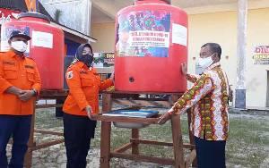 Pemkab Kobar Salurkan Bantuan Tempat Cuci Tangan ke 3 Kecamatan