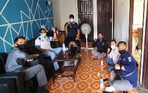Kasi Humas Polres Barito Timur Sambangi Kantor PWI