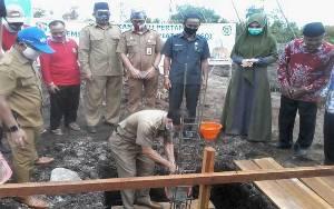 Bupati Sakariyas Hadiri Peletakan Batu Pertama Pembangunan Gedung Sekretariat LASQI