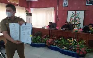 DPRD dan Pemko Palangka Raya Sepakati APBD Perubahan 2020