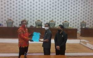 DPRD Katingan Setujui Dokumen KUA PPAS Perubahan Tahun 2020