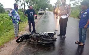 Pria Ini Tewas Diduga Korban Tabrak Lari di Jalan Mahir Mahar Palangka Raya