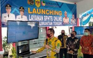 Pemkab Gunung Mas Launching BPHTB Online se Kalimantan Tengah