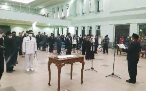 Bupati Pulang Pisau Lantik 103 Pejabat Administrator dan Pengawas