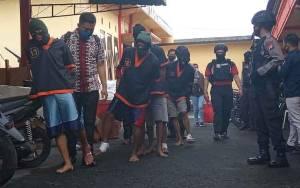 5 Anggota Gerombolan Rampok Ditangkap, 4 Ditembak di Kaki