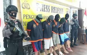 Nasib Apes Komplotan Perampok Ini, Uang Rp 64 Juta Tertinggal di Rumah Korban, 4 Pelaku Ditembak Pula...