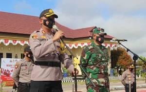 Tingkatkan Sinergi, TNI-Polri Gelar Apel Bersama