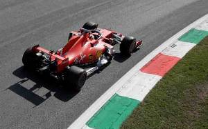 Ferrari Susah Dikendarai di Monza