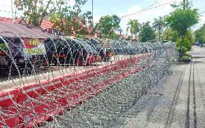 Ratusan Personel Amankan Pendaftaran Bakal Calon Kepala Daerah Kalteng