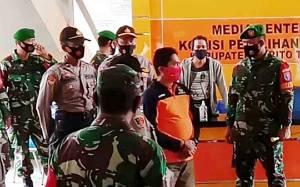 Kapolres Barito Timur dan Dandim 1012 Cek Pengamanan KPU dan Bawaslu