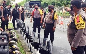 Personel Polri Ditambah Dua Kali Lipat di KPU dan Bawaslu Kalteng