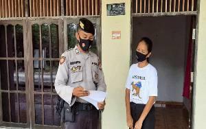 Personel Polsek Kahayan Tengah Lakukan Patroli Imbauan