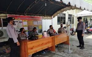 Personel Polsek Kahayan Hilir Patroli untuk Jaga Kamtibmas Pilkada Kalteng