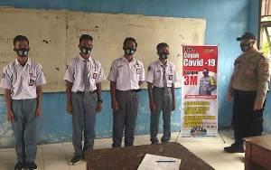 Siswa SMAN 2 Kuala Pembuang Diingatkan Jalankan 3M Cegah Covid-19