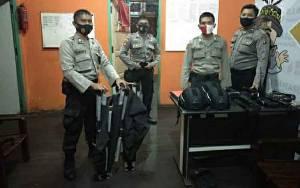 Polres Kapuas Tambah Kekuatan Alsus Pengamanan di Kantor KPU