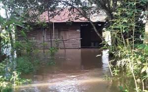 Banjir di Katingan Meluas