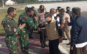 Rombongan Wamen LHK Menuju Kabupaten Lamandau