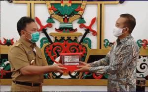 Video Prosesi Penyerahan ToA UPK 75 Tahun Republik Indonesia kepada Gubernur Kalteng