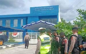 Petugas Gabungan Amankan Pelaksanaan Tes Narkoba Cabup dan Cawabup di BNNP Kalteng
