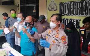Polisi Ringkus 8 Perampok Gunakan Senjata Api Rakitan di Medan