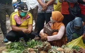 Wakil Bupati Kotawaringin Barat Cek Informasi Adanya Pungli di Pasar Indra Sari