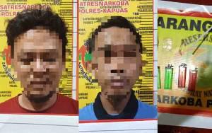 2 Warga Kecamatan Selat Diamankan Satresnarkoba Polres Kapuas