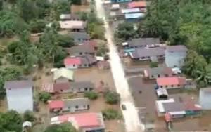 Ratusan Rumah Warga di Kabupaten Katingan Terendam Banjir