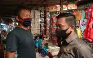 Anggota DPRD Kobar akan Perjuangkan agar Tidak Ada Pungli di Pasar Indra Kencana
