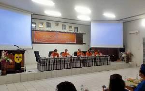 Ketua KPU Gunung Mas Akui Jumlah DPS Mengalami Penurunan