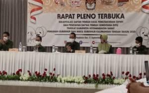 KPU Kobar Gelar Pleno Untuk Tetapkan Daftar Pemilih Sementara