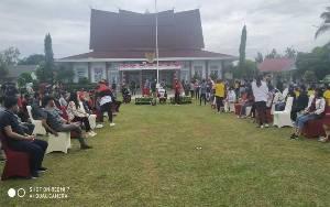 Gubernur Kalteng Hasupa Hasundau Bersama Kaum Milenial