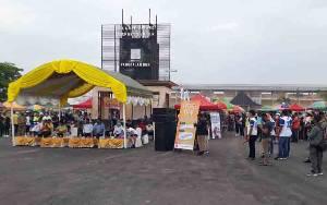 264 Pedagang Ramaikan CFD Perdana di Sport Center Pangkalan Bun