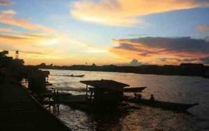 BPBD Kobar Pantau DAS yang Berhubungan dengan Sungai Arut untuk Antisipasi Banjir