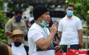 Pertemuan Gubernur Kalteng dengan Kaum Milenial Sesuai Protokol Kesehatan