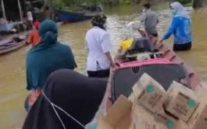 Obat-obatan untuk Korban Banjir Sudah Mulai Dibagikan Tim Medis di Puskesmas