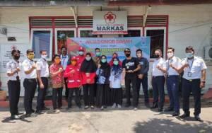 Pegawai Bandara Kuala Pembuang Gelar Donor Darah